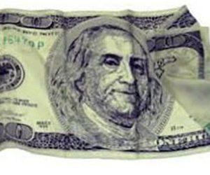 $100 BILL SILK 36″