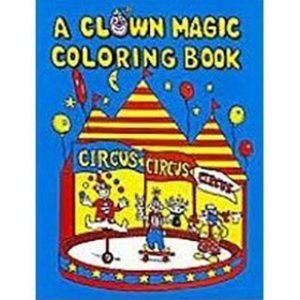 COLORING BOOK – CLOWN BLANK