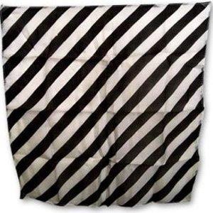 ZEBRA SILK – BLACK AND WHITE 24″