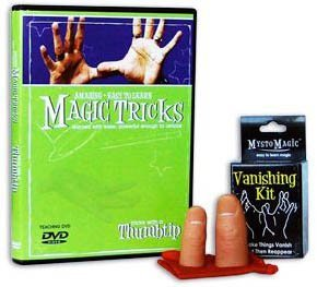 AMAZING EASY TO LEARN MAGIC TRICKS WITH A THUMBTIP