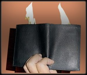 WALLET – FIRE – DELUXE – REAL LEATHER – FT