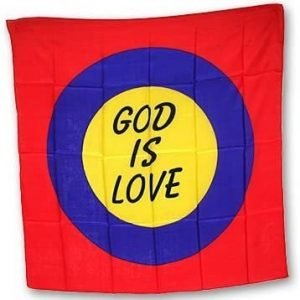 GOD IS LOVE SILK