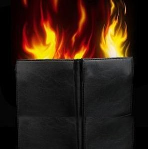 WALLET – HOT FIRE WITH MAGNET
