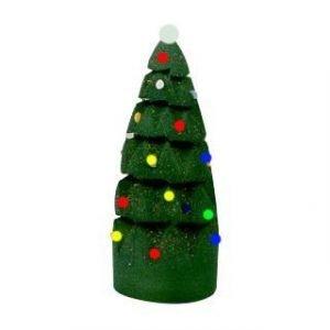 CHRISTMAS TREE MADE FROM SPONGE