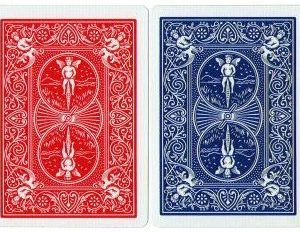 BICYCLE CARDS – POKER RED DECK