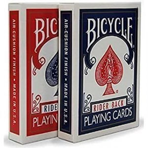 BICYCLE CARDS – POKER DECK – RED