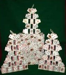 TRIPLE CARD CASTLES FROM BAG – MINI CARDS