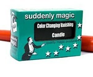 COLOR CHANGING VANISHING CANDLE