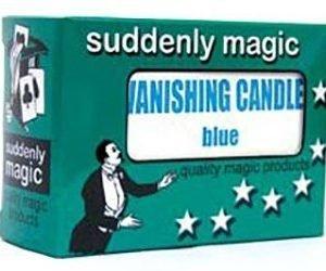 VANISHING CANDLE – PLASTIC BLUE