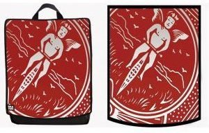 BACKPACK – CARD RED