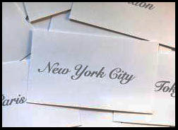 APPEARING BUSINESS CARDS – CITY PACK