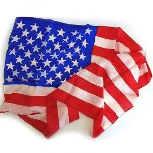 AMERICAN FLAG SILK – 36″ X 60″