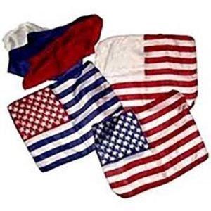 AMERICAN FLAG – MISMADE SILK – 6 SILK SET – ROYAL