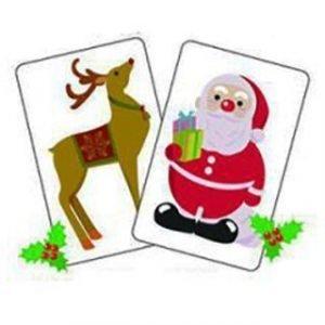 CHRISTMAS CARD MONTE