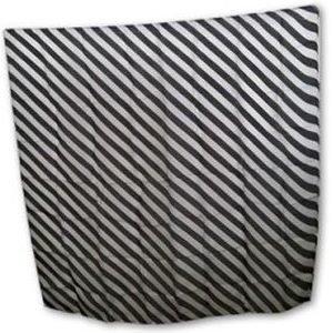 ZEBRA SILK – BLACK AND WHITE 36″
