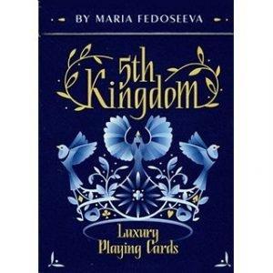 5TH KINGDOM SEMI-TRANSFORMATION – PLAYING CARDS 2 WAY- BLUE