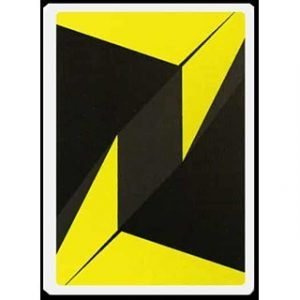 ZONE – YELLOW PLAYING CARDS