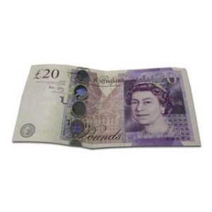 TWENTY POUND ENGLISH NOTE SILK