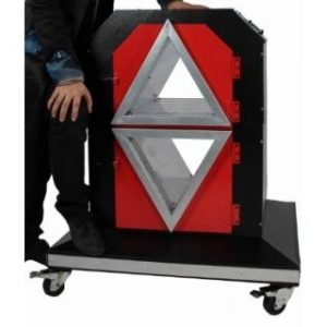 TWO CUBE STAGE ILLUSION