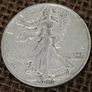 WALKING LIBERTY HALF DOLLAR – SINGLE COIN