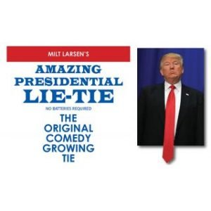 AMAZING PRESIDENTIAL LIE-TIE – THE ORIGINAL COMEDY GROWING TIE