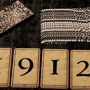 1900 DECK – NUMBER – MARKED