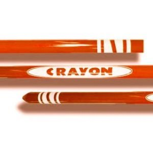 APPEARING FROM BAG – CRAYON 48″ – ORANGE