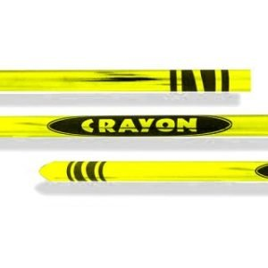 APPEARING FROM BAG – CRAYON 48″ – YELLOW