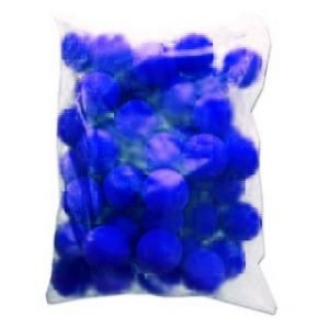 CLOWN NOSES 2″ BAG OF 50 BLUE ULTRA BRIGHT