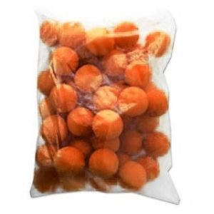 CLOWN NOSES 2″ BAG OF 50 ORANGE ULTRA BRIGHT