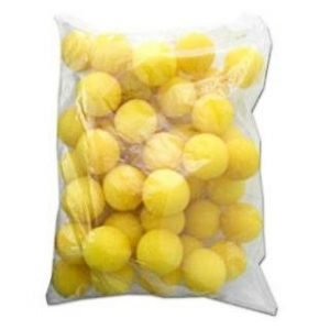 CLOWN NOSES 1.5″ BAG OF 50 YELLOW ULTRA BRIGHT