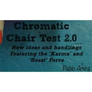 CHROMATIC CHAIR TEST 2.0 BY PABLO AMIRA ON DIGITAL DOWNLOAD – eBOOK
