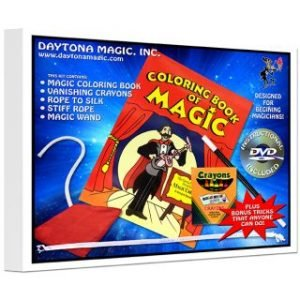 MAGIC KIT – DAYTONA MAGIC – COLORING BOOK