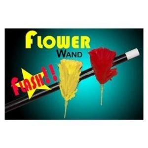 WOODEN FLASH FLOWER FROM WAND