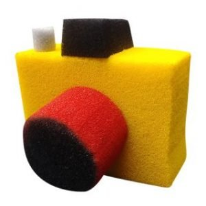 CAMERA MADE FROM SPONGE