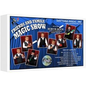 MAGIC KIT – DAYTONA MAGIC – FRIENDS AND FAMILY MAGIC SHOW