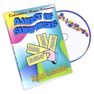 A HOST OF SURPRISES BY RACHEL COLOMBINI ON DVD