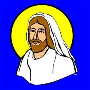 TWENTIETH CENTURY JESUS SILK