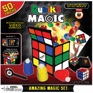 MAGIC KIT – RUBIK'S CUBE WITH 50 TRICKS