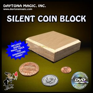 SILENT COIN BLOCK WITH DVD