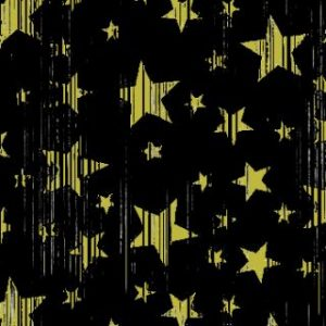 BACKDROP – BLACK WITH GOLD STARS