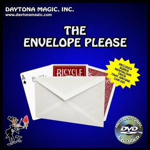 ENVELOPE PLEASE WITH DVD