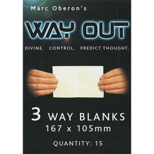 WAY OUT XII REFILL 3 WAY – STANDARD