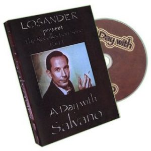 A DAY WITH SALVANO BY LOSANDER ON DVD