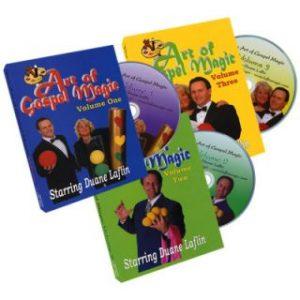 ART OF GOSPEL MAGIC – 3 DISC SET BY DUANE LAFLIN ON DVD