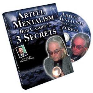 ARTFUL MENTALISM – BOB CASSIDY'S 3 SECRETS ON DIGITAL DOWNLOAD