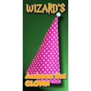 WIZARD'S ASSISTANT HAT – CLOWN