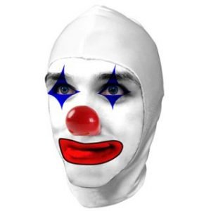 CLOWN SPANDEX HEAD COVERING