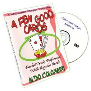 A FEW GOOD CARDS BY ALDO COLOMBINI ON DVD