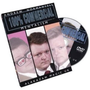 100 PERCENT COMMERCIAL ON DVD